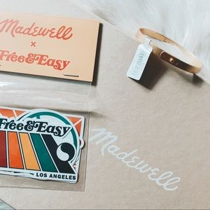 Madewell Bracelet and Sticker Bundle